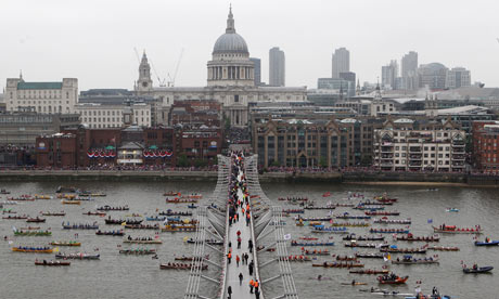 Thames river pageant