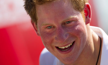 Pictures of Prince Harry cavorting naked around a hotel room in Las Vegas ...