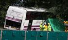 Surrey coach crash