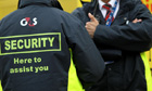 G4S security guards at the London Olympics
