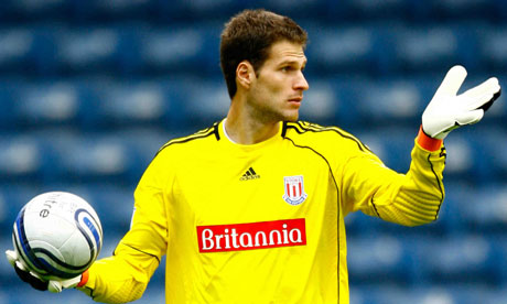 Asmir Begovic 006 Asmir Begovic is heading to Liverpool & Pellegrini has to win 5 trophies in 5 years at Man City