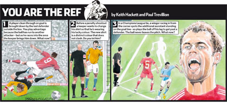 You are Ref Jamie Carragher