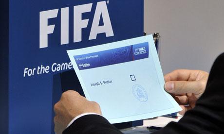 Fifa ballot form