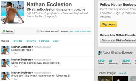 Eccleston Twitter