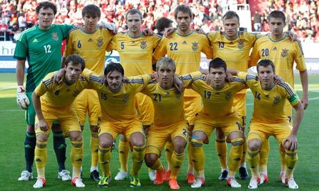 Ukraine Squad EURO 2012