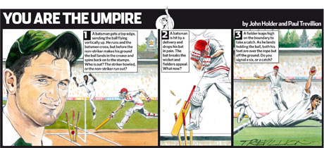 You are the Umpire Smith
