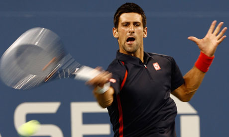 US Open. Novak Djokovic in