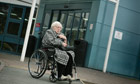 Wallis&rsquo;s 90-year-old mother, Madge, was sent to A&amp;E alone and without her hearing aid or dentures