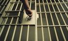 Locking a prison door