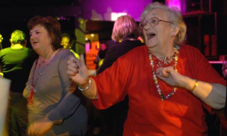 Southwarks pensioners take the Ministry of Sound by storm