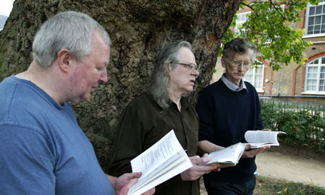 (From left) Frank Bangay, Andrew Roberts and Peter Campbell, founding members of the Survivor History Group