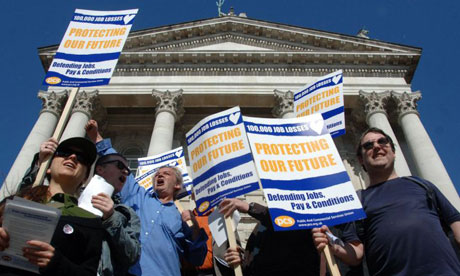 Public sector pay protest