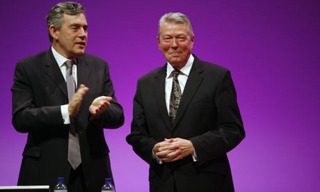 Gordon Brown and Alan Johnson
