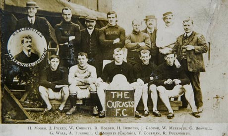 The Manchester United players sacked in 1909 for refusing to resign from the players' union