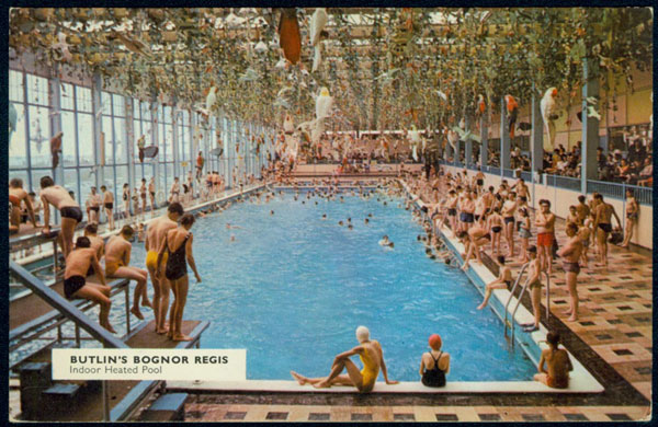 New book celebrates britain 39 s indoor swimming pools society the guardian for Bognor regis butlins swimming pool