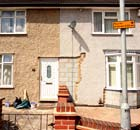 Council houses in Dagenham, east London