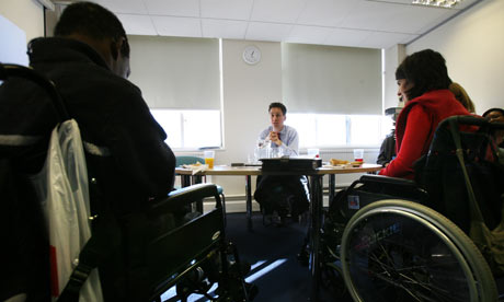 Ed Miliband meets learning disabilities service users