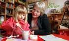 Vickie Wrigglesworth and children at Noah's Ark pre-school in Knaresborough, North Yorkshire