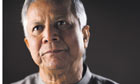 Muhammad Yunus, managing director of Grameen Bank, Bangadesh