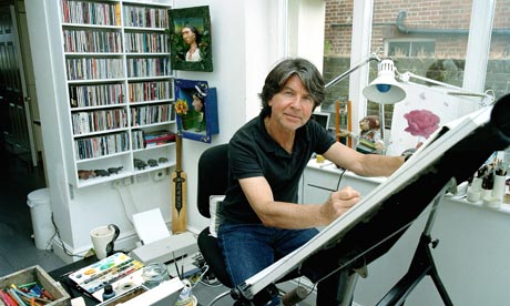The children's laureate, Anthony Browne