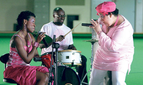 LIzzie Emeh, singer with learning disabilities