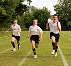 Secondary school sports event.