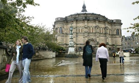 Edinburgh University admissions