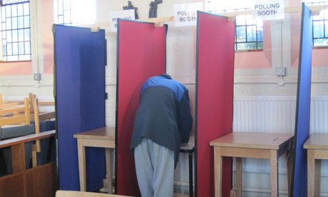 how to find polling booth