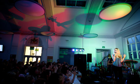 Diana Vickers, Lancaster library