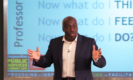 Eddie Obeng public services summit