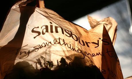 Picture of a Sainsbury's shopping bag co