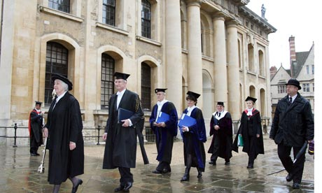 Meeting of the Congregation of Oxford University