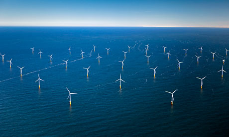 Wind Park in North Sea