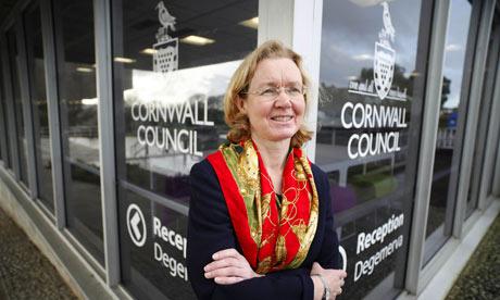 Fiona Ferguson, Cornwall council