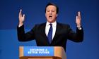 David Cameron delivers his conference speech