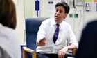 Ed Miliband visits Leighton hospital in Crewe