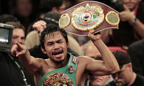 Manny Pacquiao's blood test refusal puts Floyd Mayweather Jr fight ...