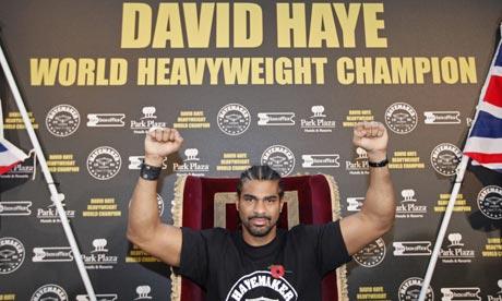 david haye world champion