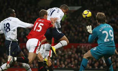Agbonlahor scores the winner at Old Trafford