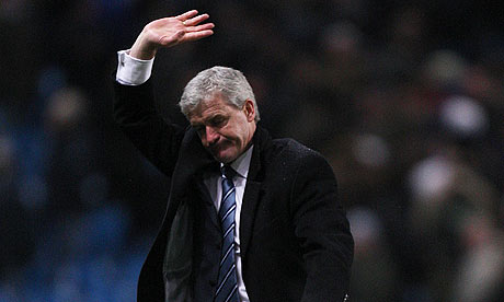 If Manchester City had sacked Hughes to replace him with Mourinho or Hiddink, then you would have to concede that he had lost his job to a great manager. But for Hughes to make way for Mancini is a big surprise   Alan Hansen