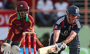 West Indies play England