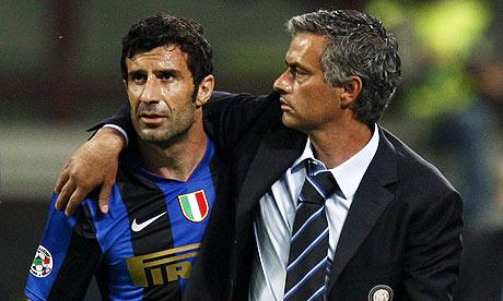 jose mourinho coaching. Jose Mourinho, Luis Figo