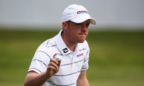 David Horsey is leading the field at the BMW Championship
