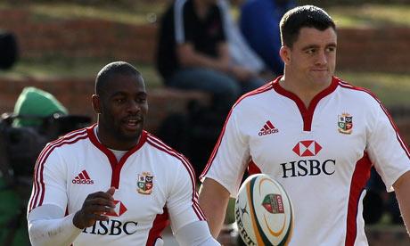 Ugo Monye and Andrew Sheridan