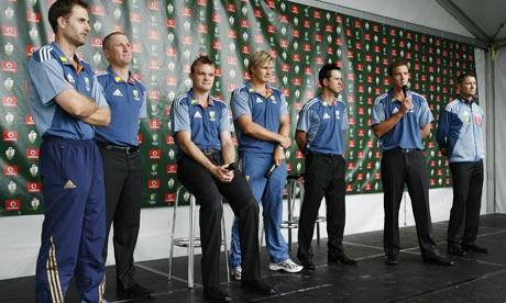 Australia Ashes team unveiling