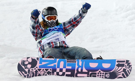 Shaun White retains Winter Olympic halfpipe title and adds ashaun white vancouver 2010