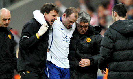 wayne rooney injured