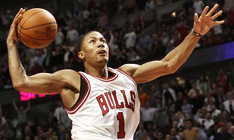 derrick rose chicago bulls. Chicago Bulls#39; Derrick Rose