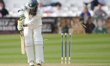 Moeen Ali of Worcestershire