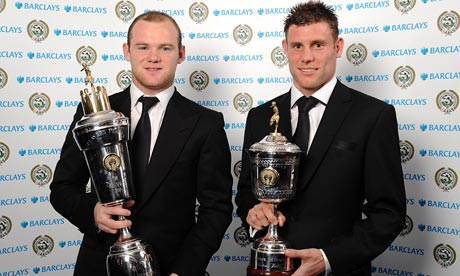 Wayne Rooney wins PFA Player of the year